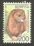 Sellos de Europa - Bielorrusia -  632 - Visón