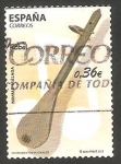 Stamps Spain -  Rabel, instrumento musical