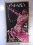 Sellos de Europa - España -  Correspondencia Urgente Especial. Alegorias Centauro.Ed:1186