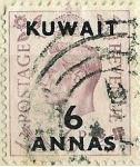 Sellos de Asia - Kuwait -  George VI
