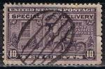 Stamps United States -  11 a - Correo urgente en motocicleta