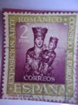 Sellos de Europa - España -  Consejo de Europa.-Exposición Arte Románico-Virgen de Iráche. Ed:1367.-