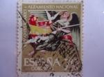 Stamps Spain -  XXV Aniversario. Alzamiento Nacional