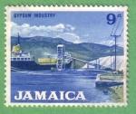 Stamps Jamaica -  Gypsum Industry