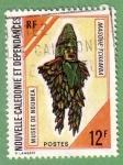 Stamps New Caledonia -  Masque Tchamba