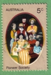 Stamps Australia -  Pioneer Society