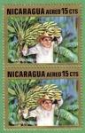 Stamps Nicaragua -  Bananos