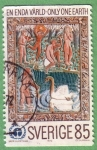 Stamps : Europe : Sweden :  Only one Earth