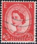Stamps United Kingdom -  ISABEL II 1958-65. Y&T Nº 330