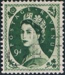 Sellos de Europa - Reino Unido -  ISABEL II 1958-65. Y&T Nº 338