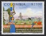 Stamps Colombia -  COLOMBIA - Parque nacional Los Katios