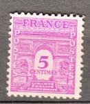 Sellos de Europa - Francia -  Arco de Triunfo (85)