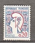 Sellos de Europa - Francia -  Marianne de Cocteau (127)
