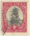 Sellos del Mundo : Africa : Sudáfrica : POSSEEL - INKOMSTE