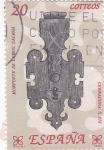 Stamps Spain -  Artesanía española-Hierro     (H)