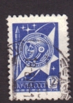 Stamps Russia -  Yuri A. Gagarine