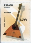 Sellos del Mundo : Europa : España : 4711 -Instrumentos Musicales. Balalaica.