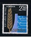 Sellos de Europa - España -  Edifil  1585  XXV años de Paz Española.