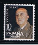 Sellos de Europa - España -  Edifil  1589  XXV años de Paz Española.