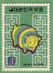 Stamps : Asia : South_Korea :