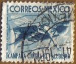 Stamps Mexico -  Campaña contra PALUDISMO