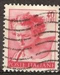 Sellos de Europa - Italia -  Obras de Miguel Ángel Buonarotti (pintor).
