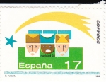 Stamps : Europe : Spain :  NAVIDAD- 1993- Los Reyes Magos     (H)