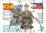 Sellos de Europa - España -  Filipinas,Méjico y España Un siglo de amistad    (H)