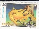 Stamps Spain -  SALVADOR DALÍ- El Gran Masturbador    (H)