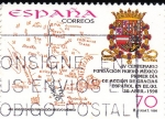 Sellos de Europa - España -  400 aniversario fundación de Nuevo Mejico    (H)