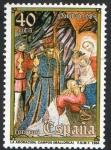 Stamps Europe - Spain -  2777- Navidad 84. Adoración de los Reyes Magos, Iglesia parroquial de Campos.