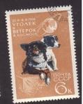 Sellos de Europa - Rusia -  perros astronautas