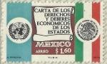 Stamps America - Mexico -  CARTA DE LOS DERECHOS Y DEBERES ECONOMICOS DE LOS ESTADOS