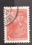 Stamps Russia -  barrenero