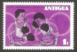 Stamps : America : Antigua_and_Barbuda :  423 - Olimpiadas de Montreal, boxeo