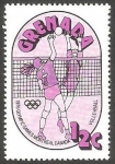 Stamps : America : Grenada :  689 - Olimpiadas de Montreal, volleyball