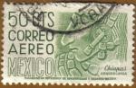 Sellos de America - México -  CHIAPAS - Arqueologia
