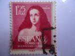 Stamps Spain -  Ed: 1129 - III Centenario de la muerte de José de Ribera, el Españoleto -La Virgen María Magdalena.E