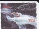 Stamps Panama -  Raffting en Río Chagres