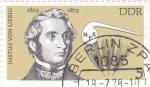 Sellos de Europa - Alemania -  Justus  Von Liebig 1803-1873  químico
