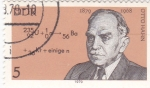 Stamps Germany -  Otto Hahn 1879-1868 químico