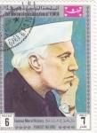 Sellos de Asia - Yemen -  Hombres Famosos de la Historia-  PANDIT NEHRU