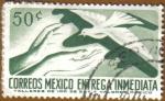 Stamps Mexico -  Manos y Paloma