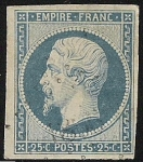 Sellos del Mundo : Europa : Francia : Emperor Napoleon III