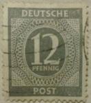 Sellos de Europa - Alemania -  deutsche post 1960