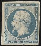 Stamps Europe - France -  Emperor Napoleon III