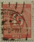 Stamps Germany -  deutche post 1960