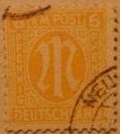Sellos de Europa - Alemania -  deutschland a m post 1945