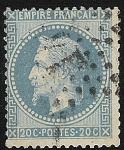 Sellos de Europa - Francia -  Emperor Napoleon III