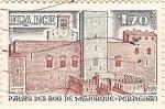 Stamps France -  Palais des rois de Majorque